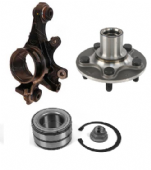 Rear Hub Knuckle, Mountings & Bearings